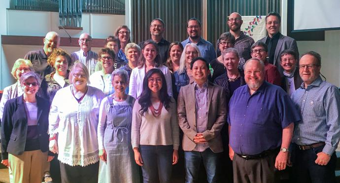 The Pacific Northwest Conference board of ordained ministry reaffirmed its 2016 decision not to consider issues of sexuality when evaluating candidates for ordained ministry. Photo courtesy of the board of ordained ministry.