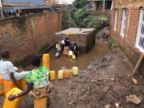Cholera is a bacterial disease that is usually spread through contaminated water. Photo by Philippe Kituka Lolonga, UMNS.