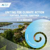 Instagram art for the Nov. 6-17 Bonn climate summit, also known as COP 23, courtesy of COP23 Fiji.