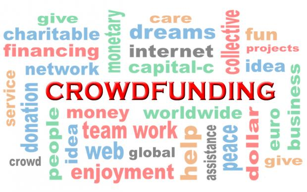 The General Council on Finance and Administration has released a guide for United Methodist churches considering using crowdfunding websites. Illustration by Dieter Scheppeit, courtesy of Pixabay; modified by UMNS