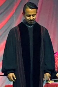 The Rev. Orlando Gallardo was commissioned in the United Methodist Great Plains Conference as a provisional member last year. He serves as associate pastor at United Methodist Trinity Community Church in Kansas City. Photo courtesy of Orlando Gallardo