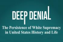 """Deep Denial,"" a book about white supremacy written by a United Methodist pastor, recently won the 2017 Next Generation Indie Book Award in the Current Events/Social Change category. Photo courtesy of Margery Freeman. Cropped from original artwork; title only."