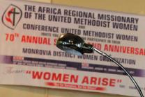 The United Methodist Women in Liberia have launched a campaign to promote the rights of girls, including access to education and freedom from violence. Photo by Julu Swen, UMNS.