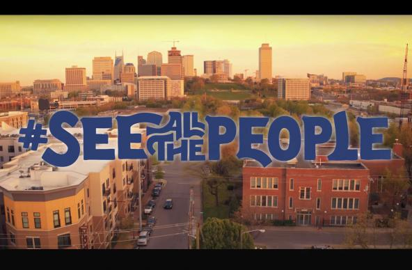 "The title graphic from ""See All the People,"" a video produced by Discipleship Ministries as part of a new disciple-making initiative. Video image courtesy of Discipleship Ministries."
