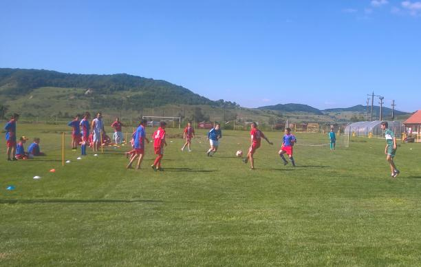 A mutual love of soccer helped Samuel Goia, a United Methodist lay pastor in Romania, connect with Roma youth and form a team, leading to a ministry with an ethnic group widely discriminated against in Europe. Photo courtesy of Samuel Goia.