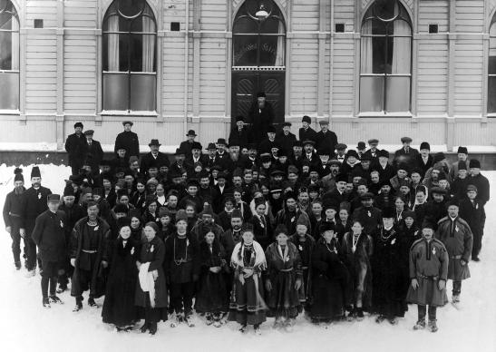 In February 1917, the first congress of people of Sami origin (indigenous people of northern Norway, Sweden, Finland and Russia) gathered in Trondheim Methodist Church in Trondheim, Norway. Photo courtesy of Ole-Einar Andersen.