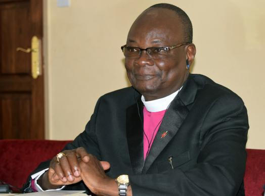 Bishop Gabriel Yemba Unda has been elected moderator of an ecumenical organization, Eglise du Christ au Congo, a Protestant ecumenical group of 95 denominations in the Democratic Republic of Congo. Photo by Eveline Chikwanah, UMNS.
