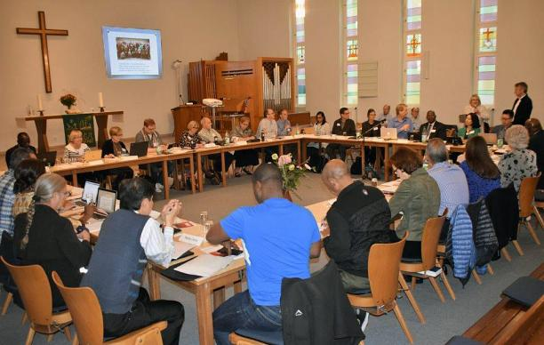 The Commission on a Way Forward met in Berlin on Sept. 18-20. Photo by Maidstone Mulenga, Council of Bishops.