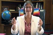 Bishop Sandra Steiner Ball filmed a series of videos for her conference members explaining various aspects of the Way Forward process and offering brief overviews of the three plans being considered by the 2019 special session of General Conference.