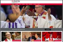 Bishops who support the One Church Plan debut a website with information on the proposal, which will be among other legislation submitted to the 2019 special General Conference. Image of home page courtesy of onechurchplan.org.