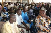 Church leaders take part in evangelism training at McBride United Methodist Church in Jalingo, Nigeria. By the year 2030, The United Methodist Church in Nigeria expects to have more than 2 million professing members. Photo by the Rev. Ande Emmanuel, UMNS.