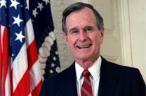 President George H W Bush