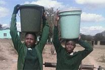 The United Methodist Church, in partnership with Chabadza Norway Community Development Program, is helping bring clean, piped water to two schools in Zimbabwe. Photos by Kudzai Chingwe, UMNS
