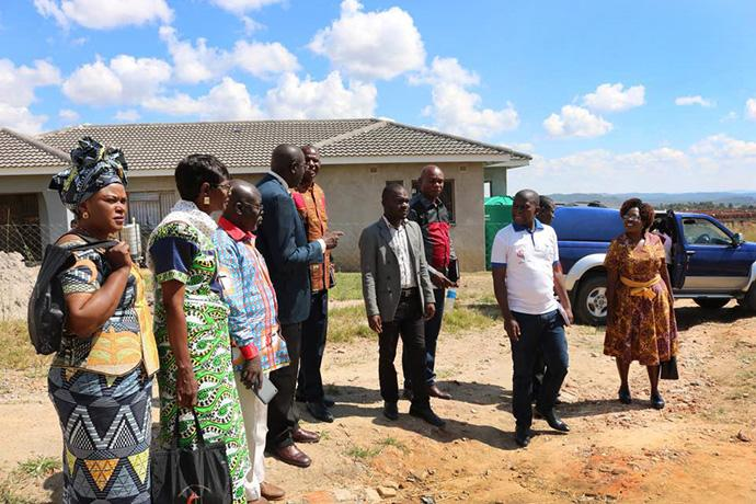 A delegation of eight conference leaders from the South Congo Conference recently visited the Zimbabwe Area for 10 days of training in church growth and administration. Photo by Chenayi Kumuterera, UMNS