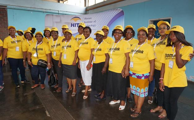 Zimbabwe women learn skills in entrepreneurship during a workshop sponsored by The United Methodist Church and Homelink Zimbabwe held in Harare. Photo by Kudzai Chingwe, UMNS.