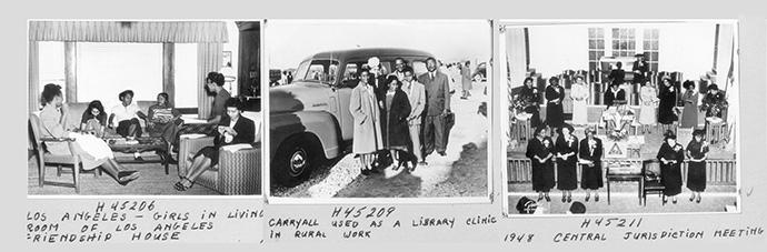 Photos from the Central Jurisdiction era. Photos courtesy of the United Methodist Commission on Archives and History.