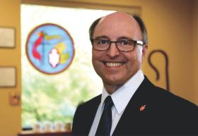 Michigan Area Bishop David Alan Bard has asked for prayers for reconciliation as Bay View, a United Methodist-affiliated summer community in northern Michigan, faces internal conflict over its restriction of cottage ownership to Christians. Photo courtesy of Michigan Area.