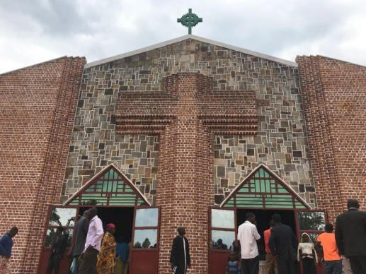 Some 1,500 people attended the special annual conference session at St. Peter's United Methodist Church in Gitega, Burundi. Photo by Tafadzwa Mudambanuki, UMNS.
