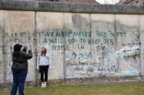 A view of the Berlin Wall on the former east side at the Berlin Wall Memorial Bernauer Strasse. The United Methodist Board of Church and Society met in Berlin March 15-18. Photo by the Rev. Klaus U. Ruof.