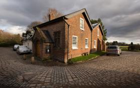 The Methodist chapel in the village of Styal was converted from a grain store in the 1830s and is one of three churches served by the Rev. Katy Thomas in Northern England near Wilmslow.