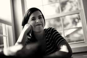 Photo of Kate Bowler, courtesy of katebowler.com.