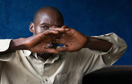 Ernest Tokpah recalls the toll Ebola took on his family during 2015 and 2016 in Ganta, Liberia.