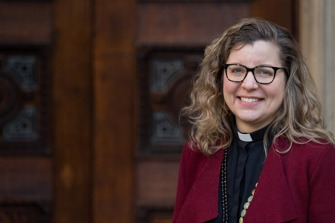 The Rev. Jennifer Smith is superintendent minister of Wesley's Chapel in London. Photo by Mike DuBose, UMNS.