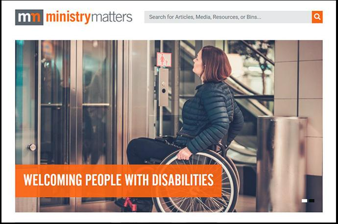 The Ministry Matters website is a ministry of the United Methodist Publishing House, which seeks to support church leaders and their ministries. Image courtesy of Ministry Matters.