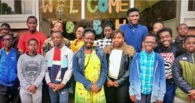 Video image courtesy of Bermondsey Central Hall Pentecost Confirmations 2017.
