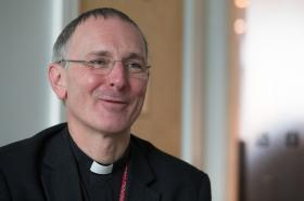 The Rev. Neil Stubbens is ecumenical officer for the Methodist Church in Britain. Photo by Mike DuBose, UMNS.