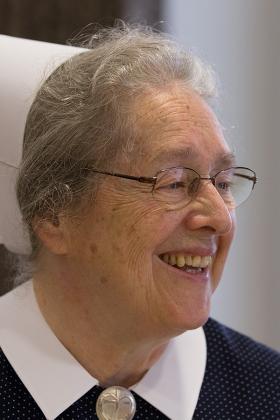 Sister Christine Grünert.