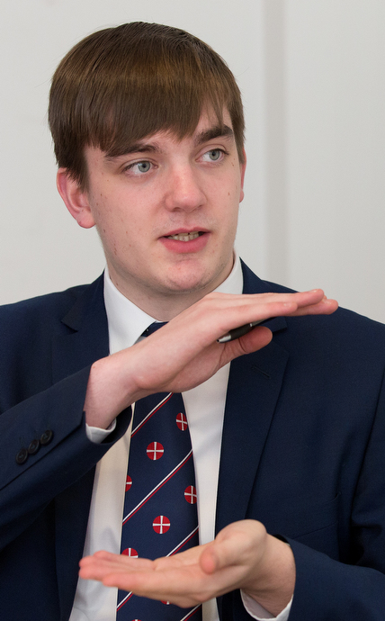 Michael Pryke is youth president of the Methodist Church in Britain. Photo by Mike DuBose, UMNS.