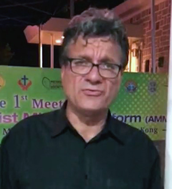 Watch as Thomas Kemper, on behalf of the United Methodist Board of Global Ministries, calls upon the Philippines government to allow three missionaries to leave the country and suggests actions for support.