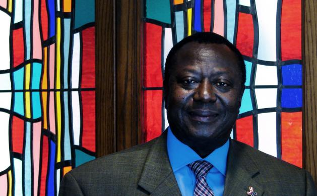 Eric Pratt, lay leader of the Heart of Africa Fellowship at Dallas' Lovers Lane United Methodist Church, is helping to raise funds for medical supplies to fight Ebola in his native Sierra Leone and in Liberia.