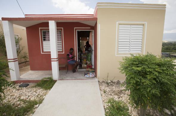 The United Methodist Committee on Relief is working with the United States Agency for International Development to help earthquake survivors resettle in new homes in the Haut Damier community near Cabaret, Haiti.