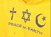 T-shirt for the American Interfaith Camp hosted by United Methodist Camp Elk Shoal