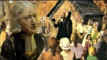 montage of John Wesley painting and bust by UMCOM with resources from GCAH