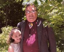 Carson Jones and his daughter, Sade, 12, attend summer conferences of the Southeast Jurisdiction Association for Native American Ministries thanks to the Native American Ministries Sunday offering. Photo courtesy of Carson Jones.