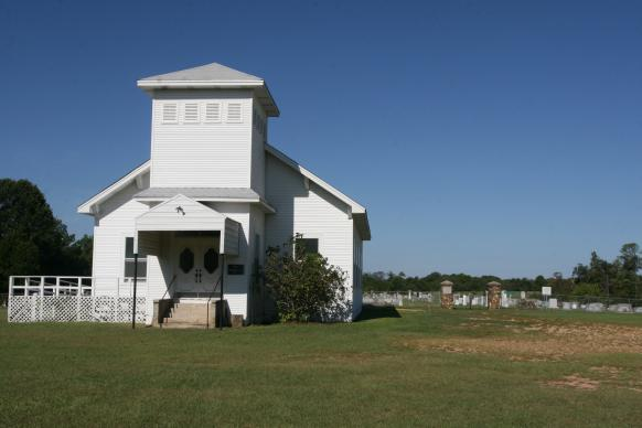 Members of Tulip United Methodist Church in an unincorporated community in south central Arkansas have prayed and worshiped together for more than 160 years. But like so many rural churches across the United States, Tulip and the other three churches in its charge are not likely to outlast their current membership. Photo by Heather Hahn, UMNS.