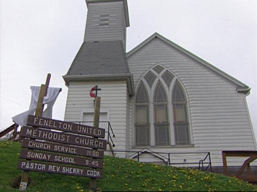 As city suburbs continue to grow, rural churches lose members and money.  Finding ways to preserve these unique congregations has become a challenge. A UMTV video still by United Methodist Communications.