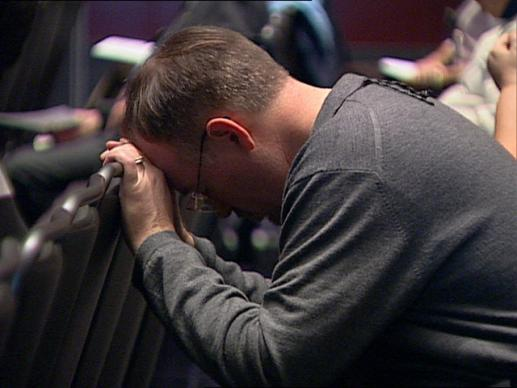 Close to 1,000 delegates are in Pittsburgh for the United Methodist conference that will shape the policies and laws of the denomination. Not every delegate is there to cast a vote, but to pray. Video still by UMTV/United Methodist Communications.