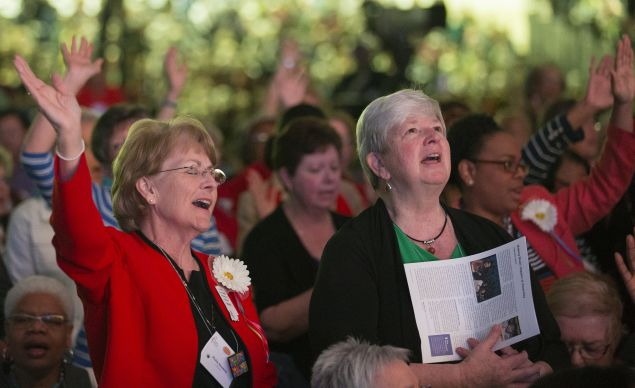 More than 7,000 women attended the United Methodist Women's Assembly 2014 at the Kentucky International Convention Center in Louisville, Ky.