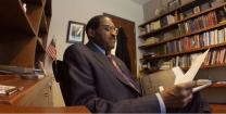 Video image of Bishop Woodie White reading his 2015 letter to Martin Luther King Jr. Courtesy of Candler School of Theology.
