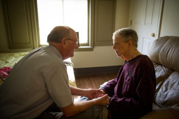 Retired Bishop Ken Carder (left) has written an Alzheimer's/dementia resource for others based on his experience of caring for his wife, Linda (right), since her diagnosis with frontal temporal dementia.