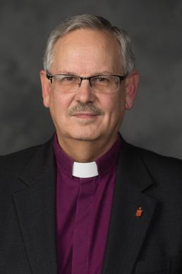 Bishop Bruce R. Ough, president of the United Methodist Council of Bishops