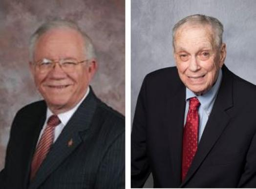 The United Methodist Church lost two retired bishops on Saturday, December 22, 2018 with the passing of Bishop Benjamin Chamness (l) and Bishop William B. Oden (r).