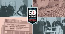 The United Methodist Church celebrates 50 years as a denomination in 2018.
