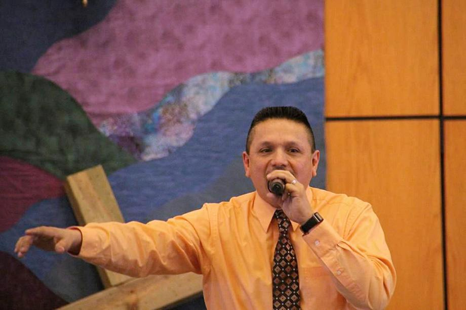 The Rev. Ruben Rivera is a part-time local pastor who founded and leads La Luz De Cristo (The Light of Christ), an Hispanic United Methodist Church in Elgin, Ill. The church was chartered in February with 146 members. Photo courtesy of Northern Illinois Conference.