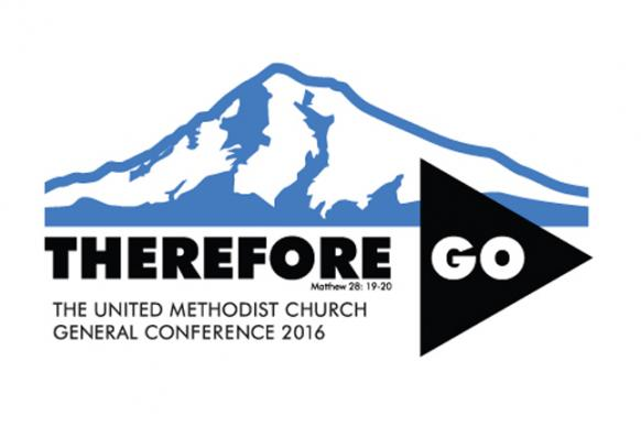 Logo for 2016 General Conference of The United Methodist Church. Courtesy of United Methodist Communications.
