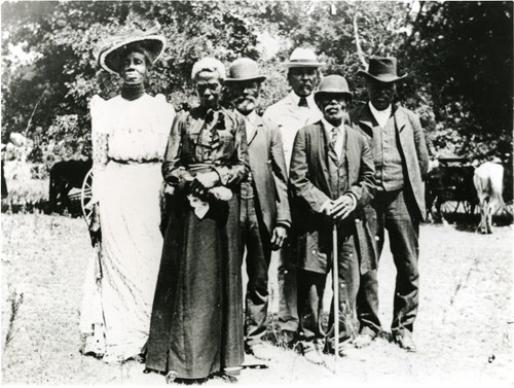 Juneteenth day celebration in Texas, June 19, 1900. Photo courtesy of Austin History Center, Austin Public Library, Wikimedia Commons.